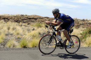 fahrradfahrer verbrennt fett