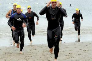 ausdauerlauf von athleten